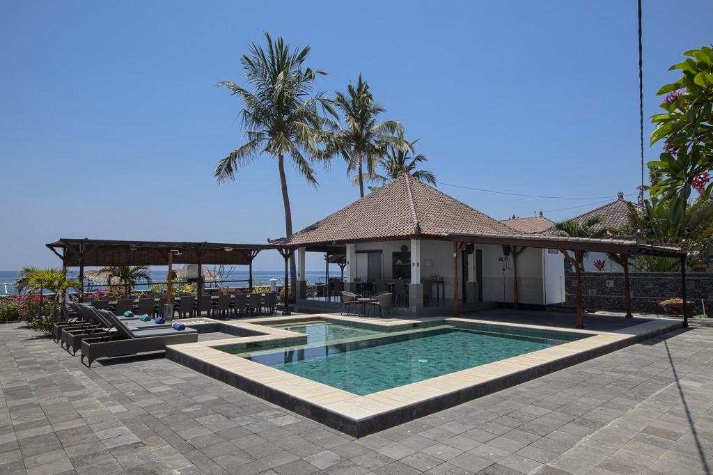 Bali beach resort met zwembad